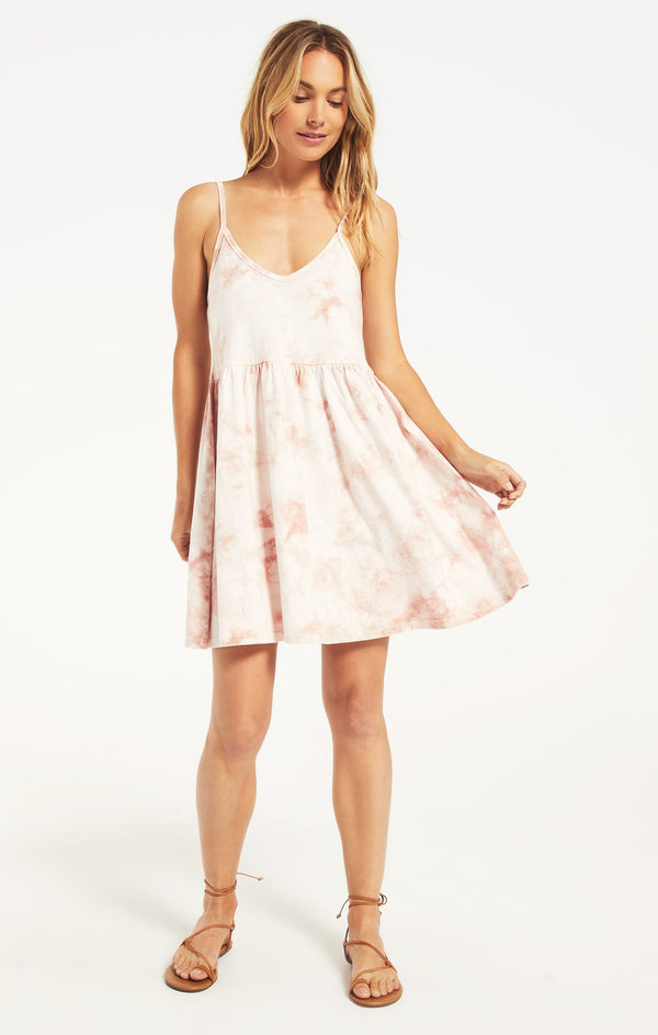 Kona Hazy Dress - PINK CHAMPAGNE / XS ShopatGrace.com