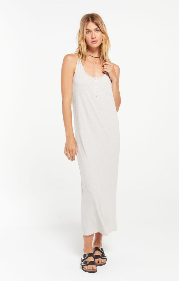 Miley Slub Midi Dress -  ShopatGrace.com