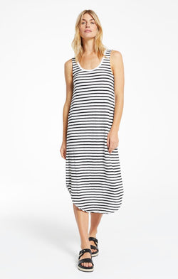 Reverie Stripe Scoop Neck Dress -  ShopatGrace.com