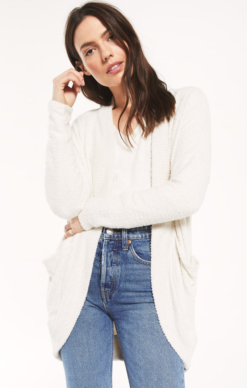 Kaye Feather Cardigan -  ShopatGrace.com