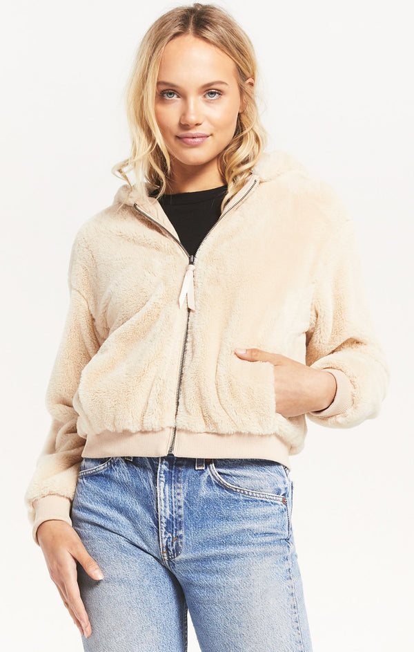 London Fur Jacket -  ShopatGrace.com