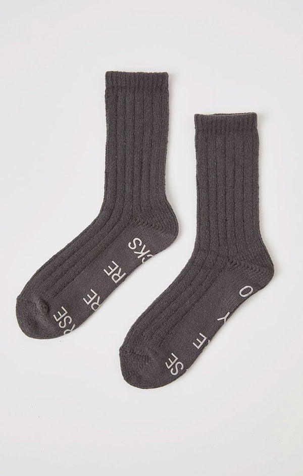 Too Tired To Care Socks -  ShopatGrace.com
