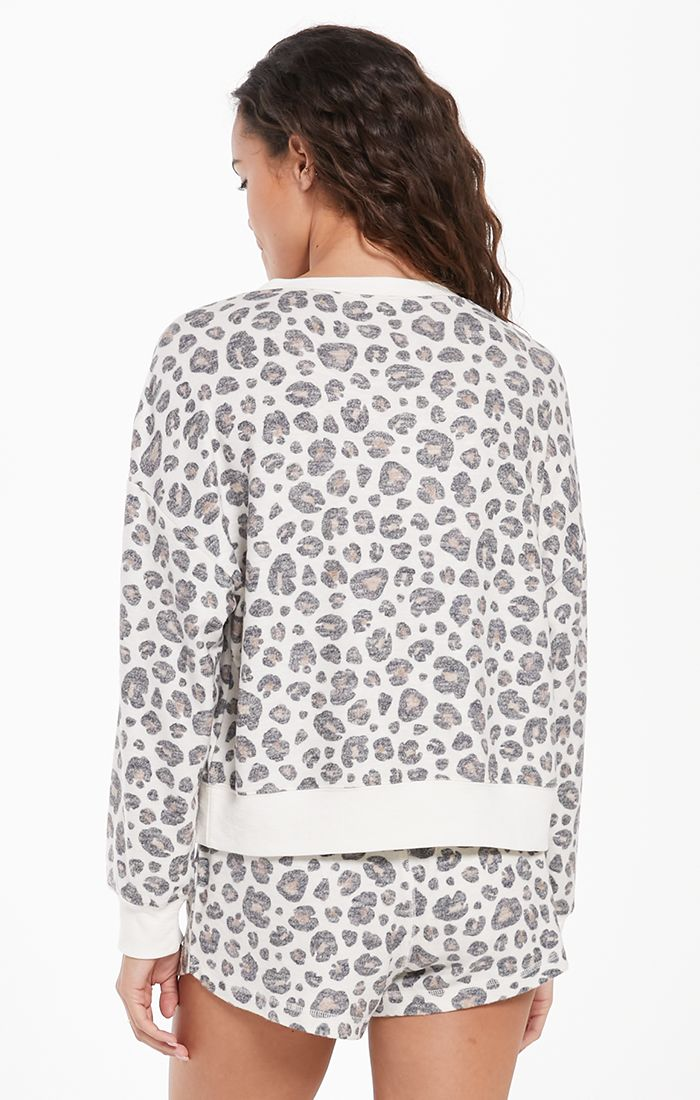 Elle Leo Long Sleeve Top -  ShopatGrace.com