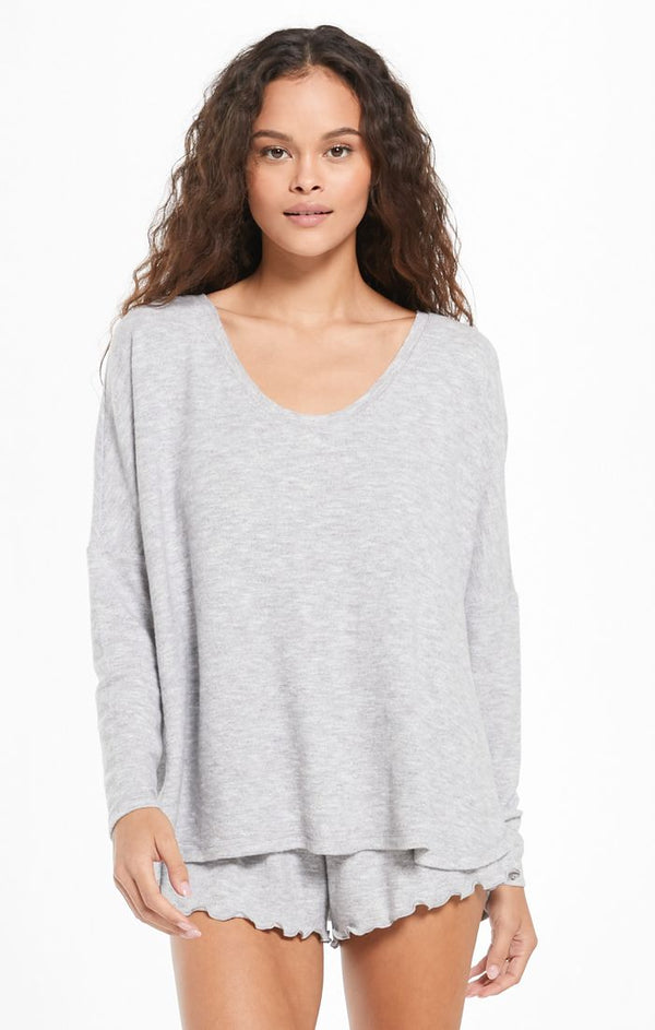 Hang Out Long Sleeve Top -  ShopatGrace.com
