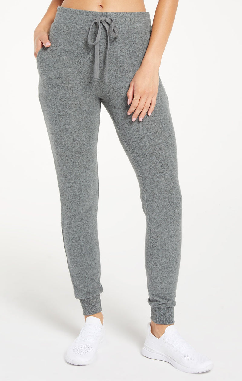 The Marled Jogger - XS / ASH GREEN ShopatGrace.com