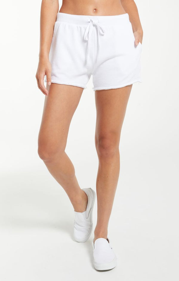 Marina Washed Short - XS / WHITE ShopatGrace.com