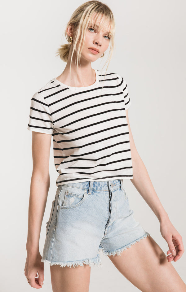 The Desert Stripe Baby Tee