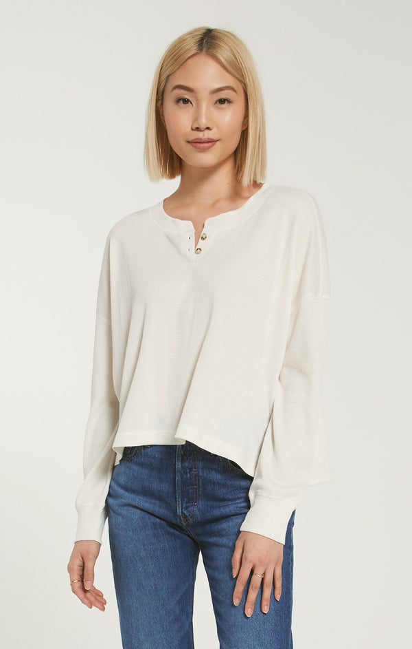 Mason Thermal Henley -  ShopatGrace.com