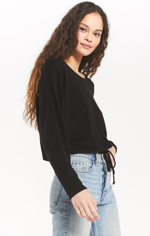 Dollie Slub Sweater Top -  ShopatGrace.com