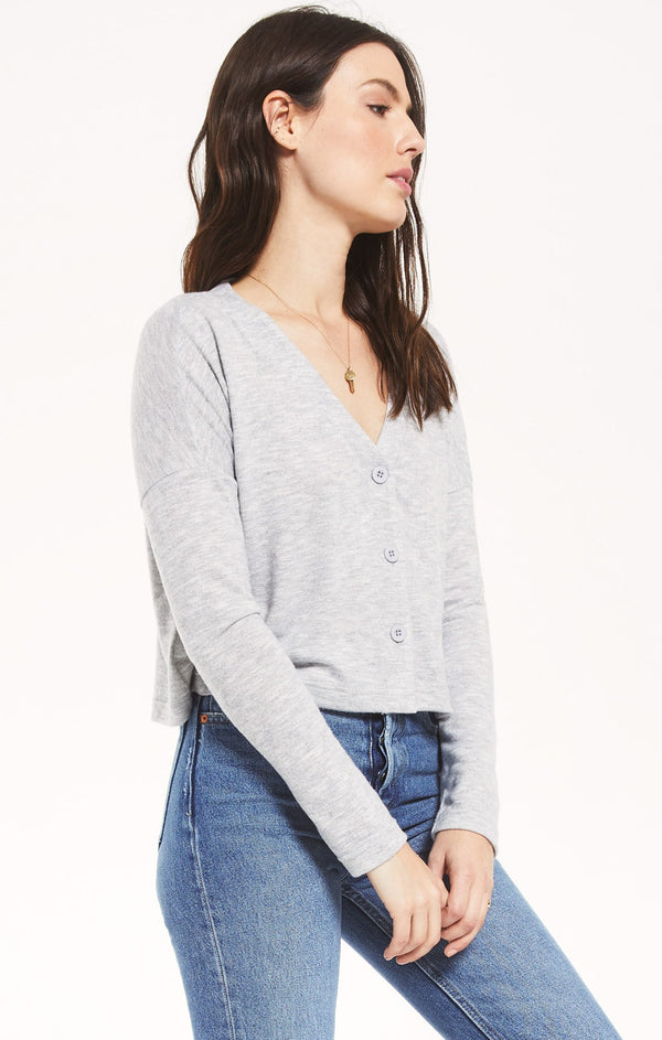Cher Slub Sweater Top -  ShopatGrace.com