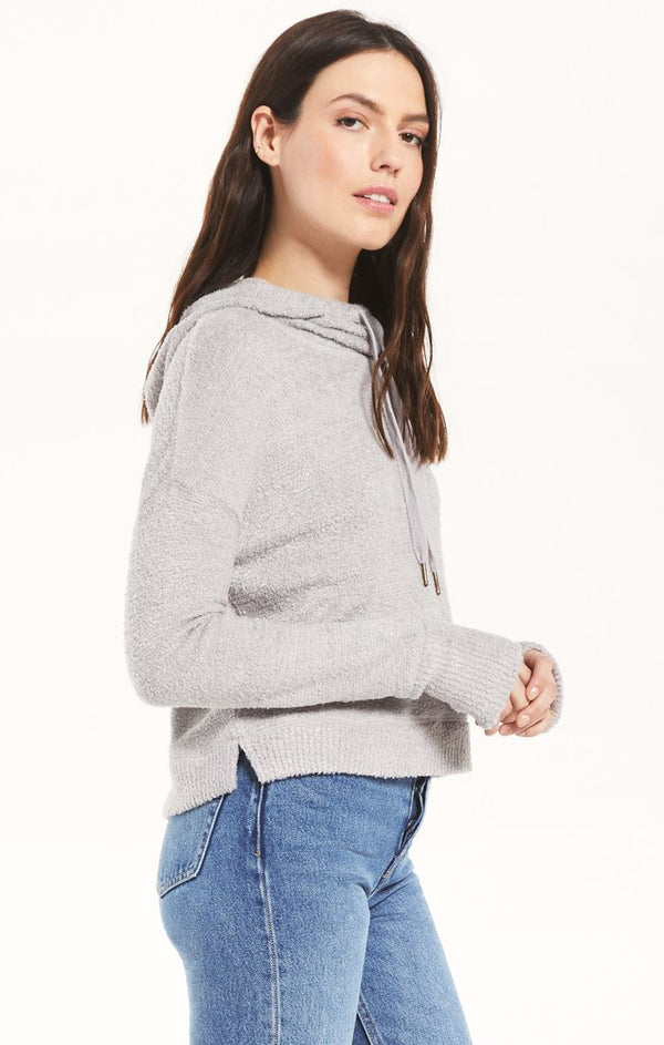 Kacey Feather Hoodie -  ShopatGrace.com