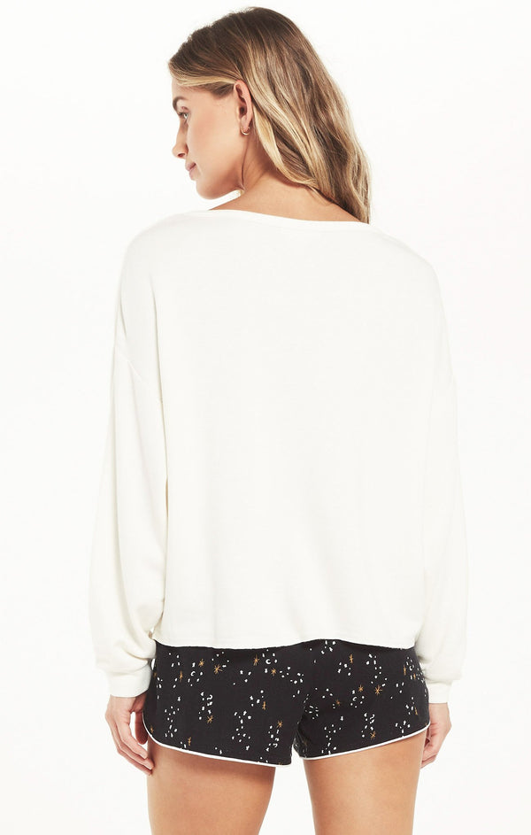 Night Owl Starry Sweatshirt -  ShopatGrace.com