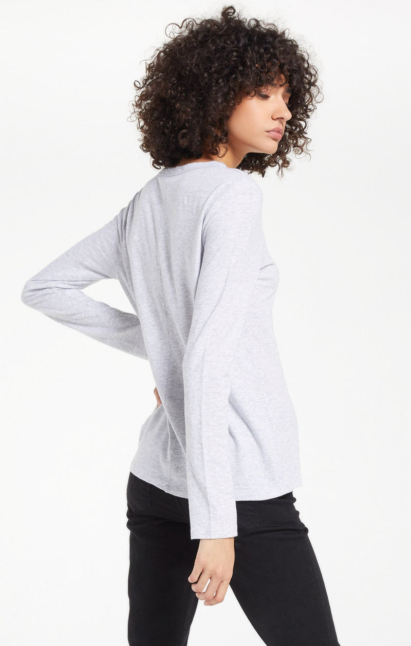 Everyday Brushed Long Sleeve Top -  ShopatGrace.com