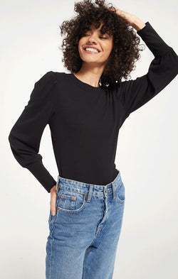 Clemente Puff Sleeve Top -  ShopatGrace.com