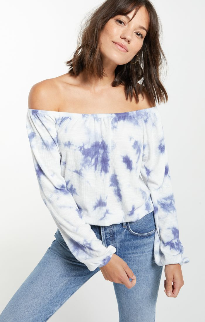Liv Cloud Tie-Dye Top -  ShopatGrace.com