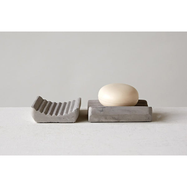 Cement Soap Dish -  ShopatGrace.com