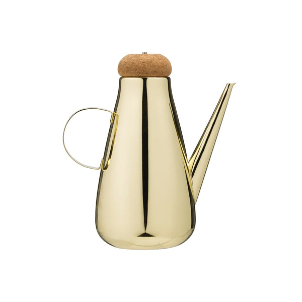 Stainless Steel Oil Cruet w/ Cork Lid -  ShopatGrace.com