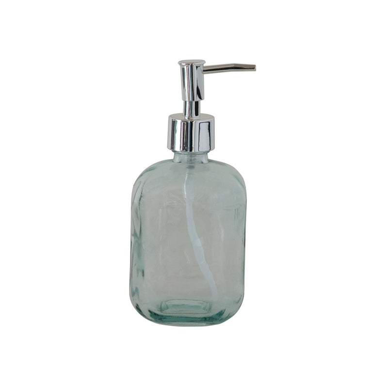 Recycled Glass Soap Bottle with Pump -  ShopatGrace.com
