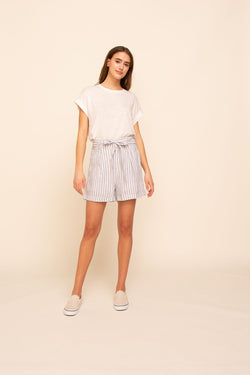 Hillside Shorts - S / Blue/White Stripe ShopatGrace.com