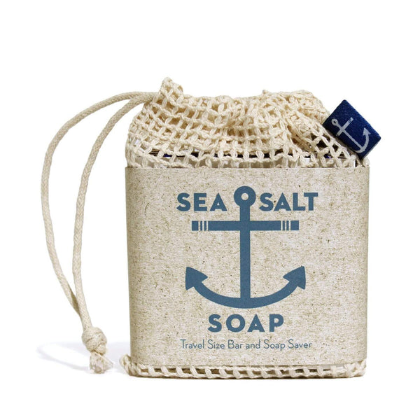 Sea Salt Travel Size Bar & Bag -  ShopatGrace.com