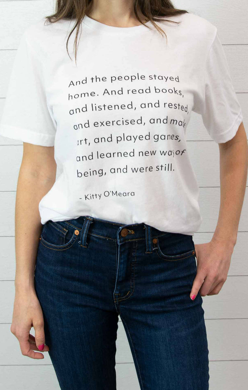 Kitty O'Meara Quote Tee