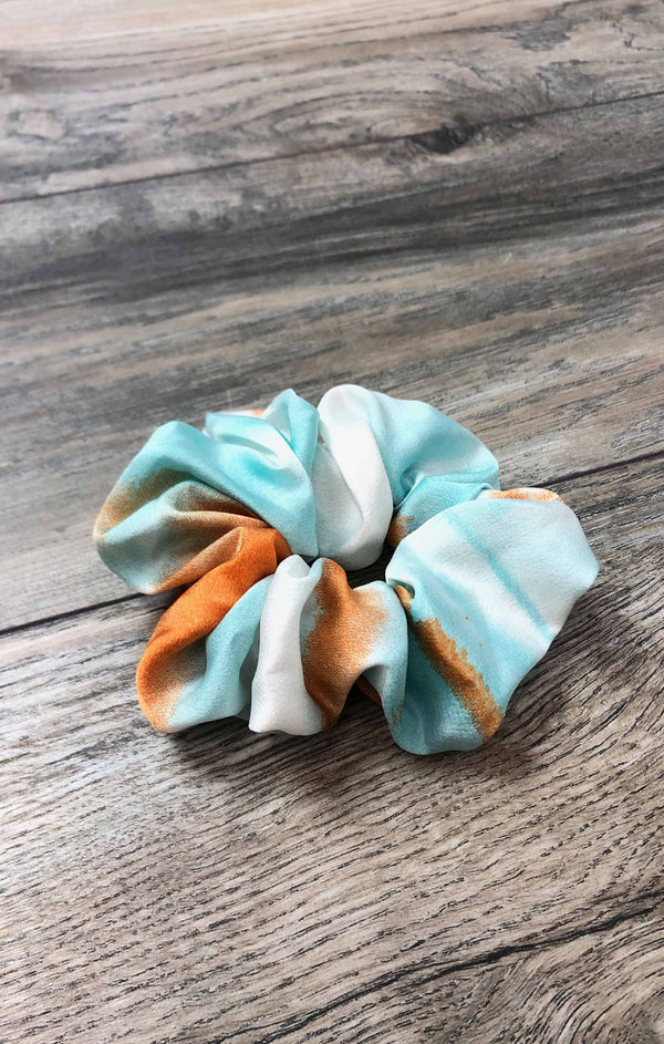 Tie Dye Scrunchie - Orange ShopatGrace.com