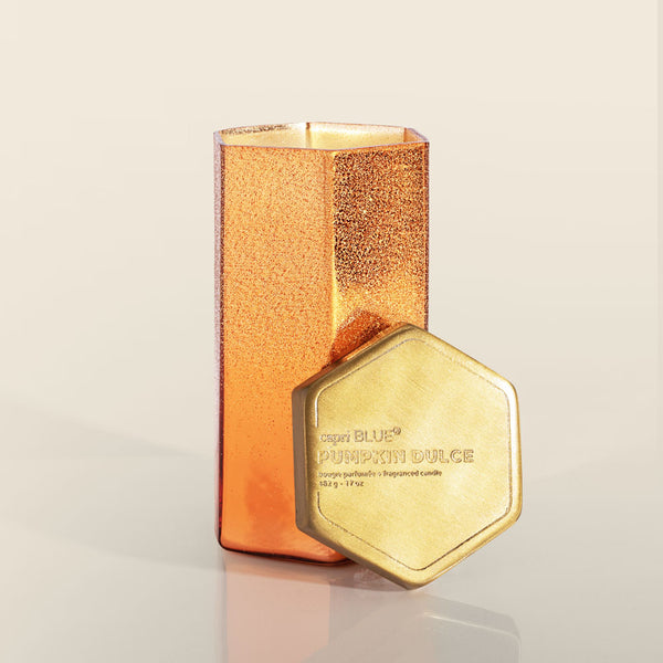 Glitz Hexagon Candle - OS / PUMPKIN DULCE ShopatGrace.com