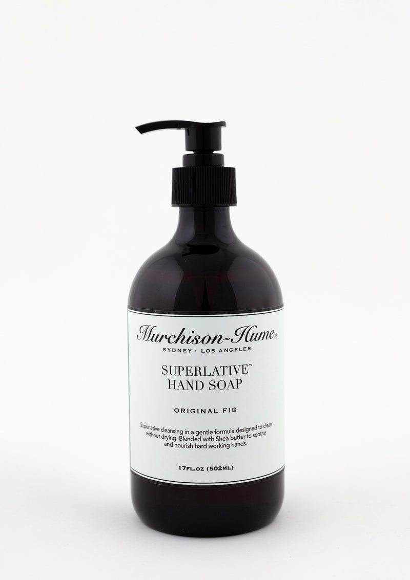 Bottle of Murchison Hume Superlative Hand Soap