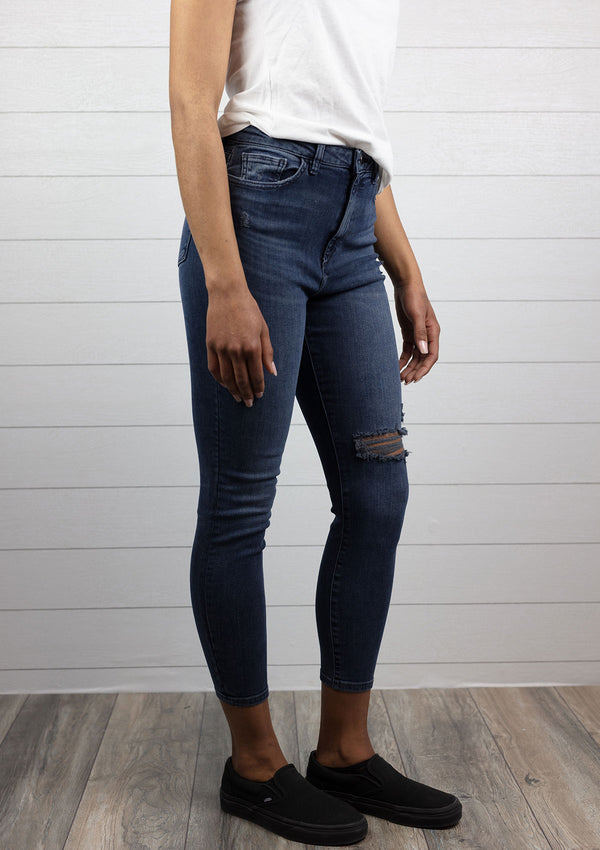 Chrissy Ultra High Rise Skinny Jean