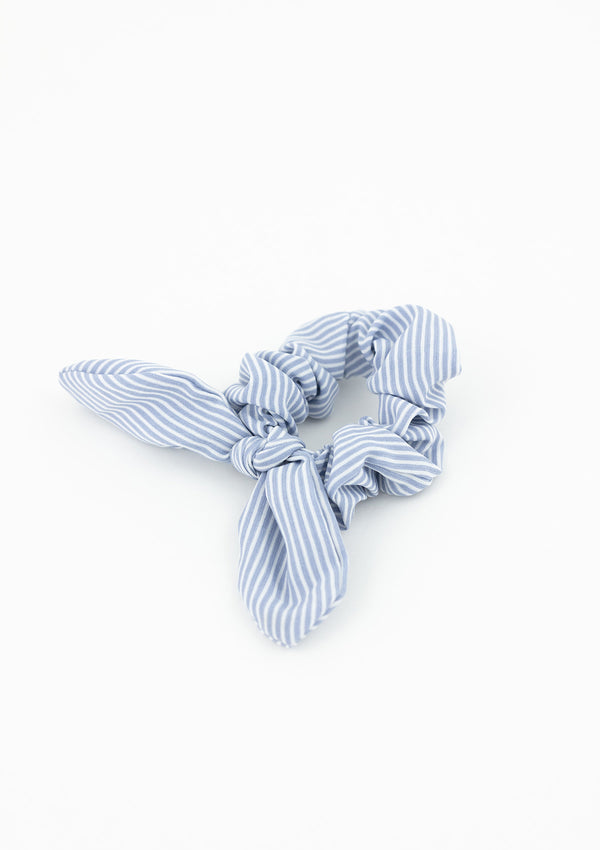 Preppy Stripe Scrunchie