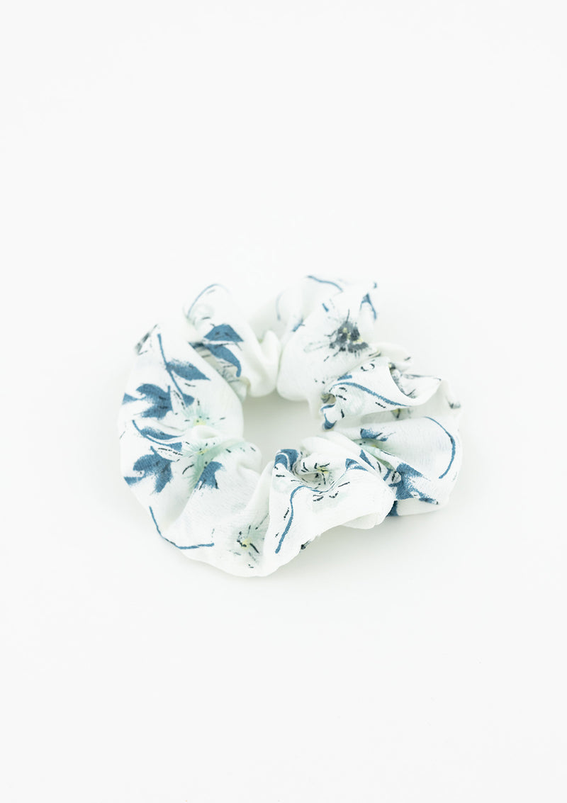 Small Floral Scrunchie