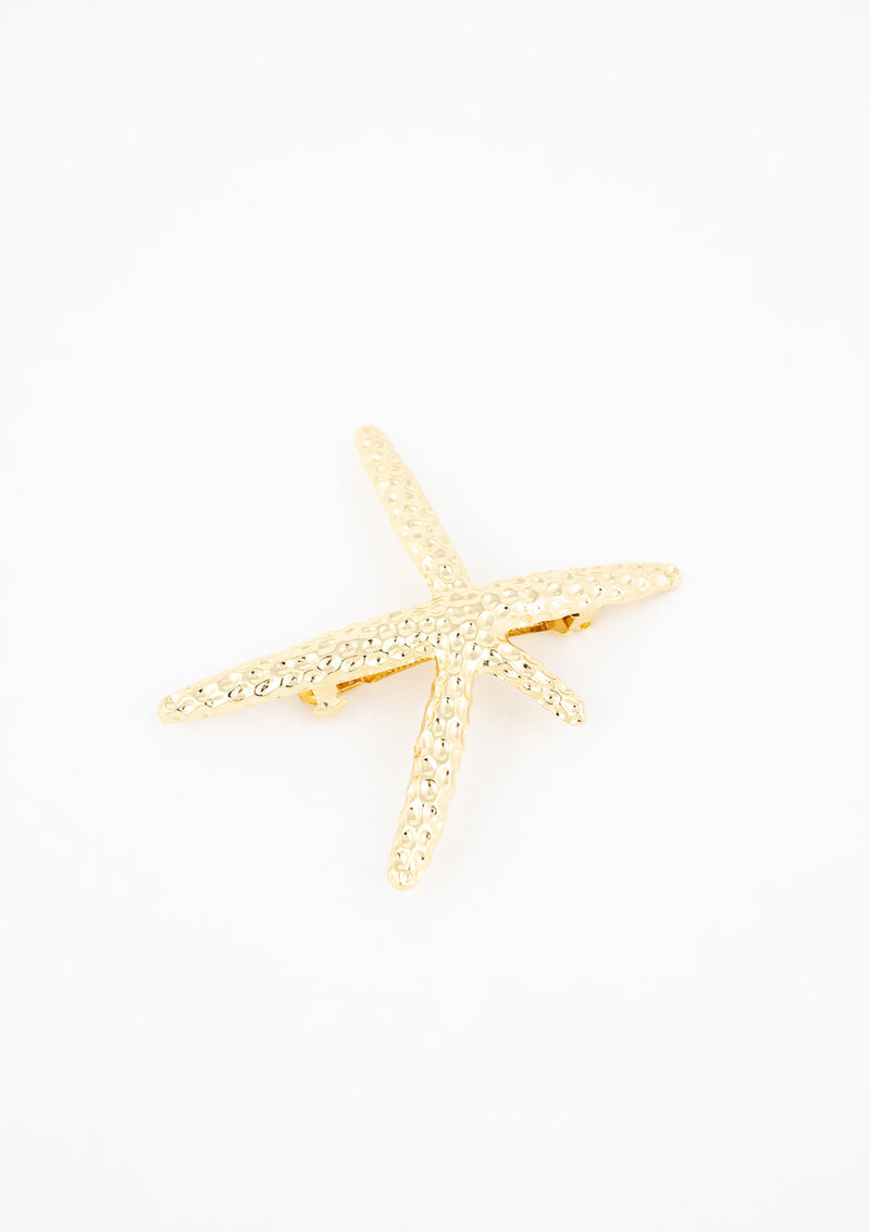 Large Starfish Barette