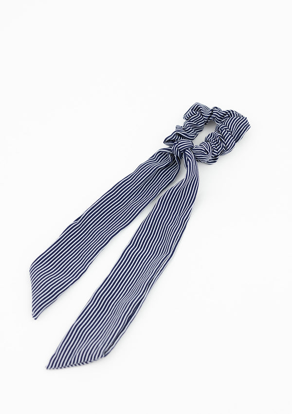 Preppy Stripe Longtail Scrunchie