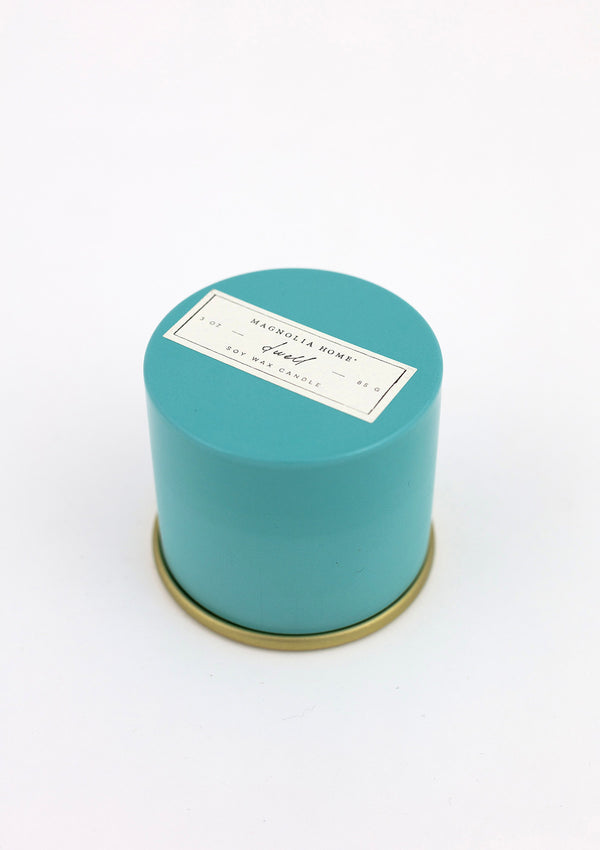 Magnolia Home Demi Tin Candle