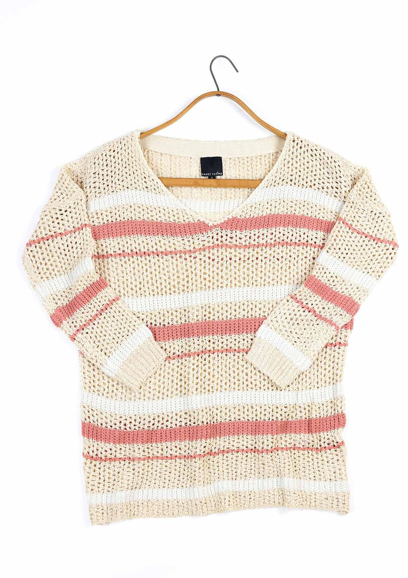 Blanche V-Neck Sweater