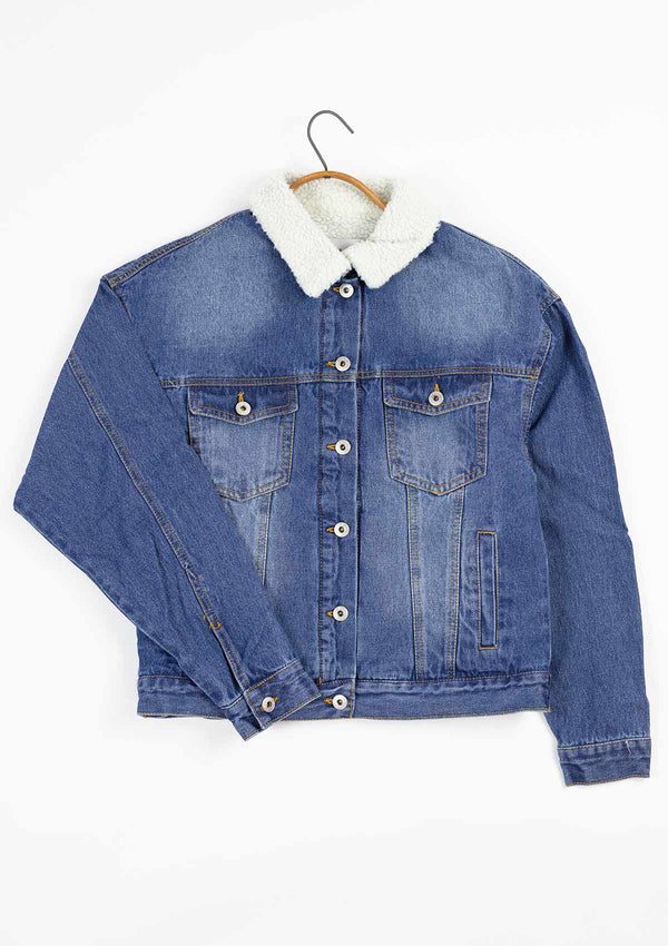 Jesse Lined Denim Jacket