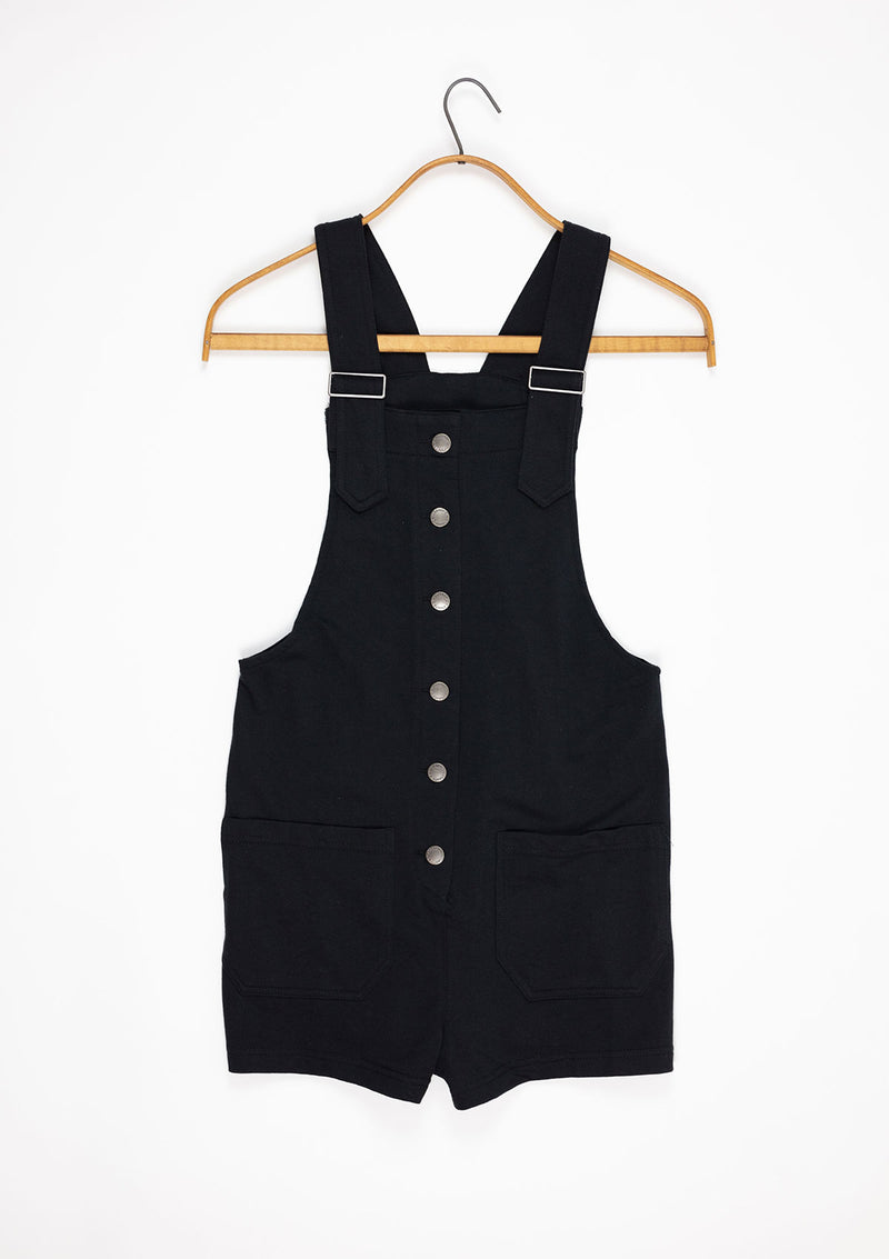 Button Front Overalls