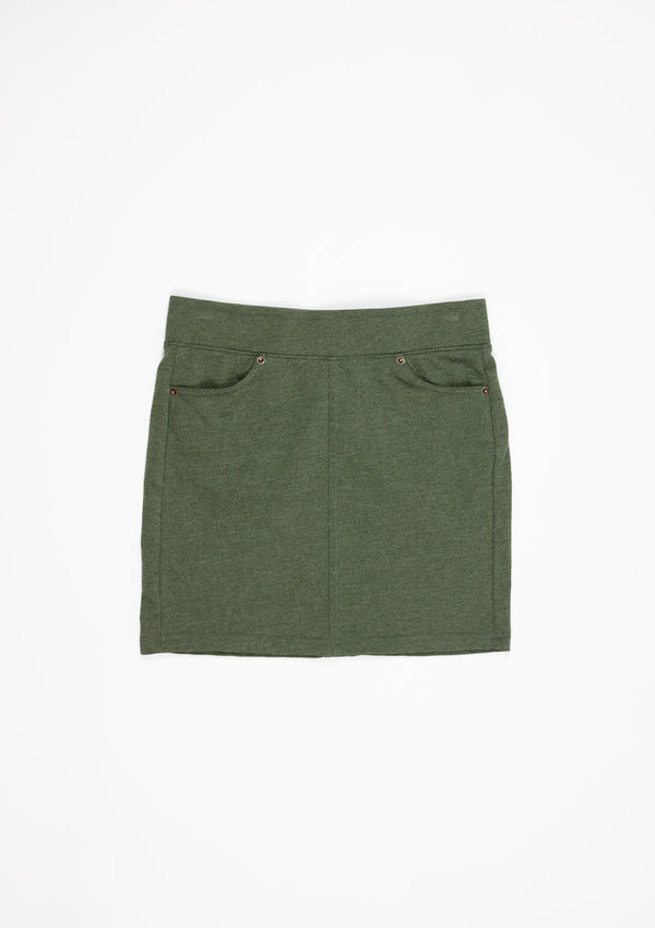 The Knit Mini Skirt