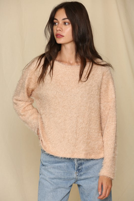 Angora Knit Sweater -  ShopatGrace.com
