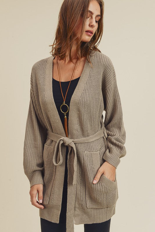 Knit Cardigan with Pockets -  ShopatGrace.com
