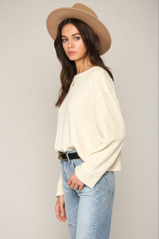Double Gauze Knit Top -  ShopatGrace.com