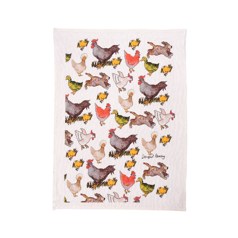 Tea Towel - Chooks