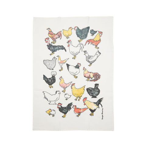 Tea Towel - Australian Chooks