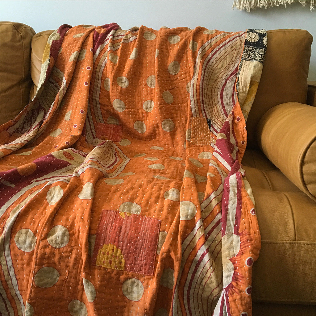 The History of Kantha Quilts