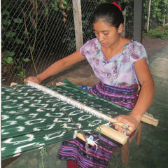 Traditional Guatemalan Weaving on a Backstrap Loom The Fox and the Mermaid