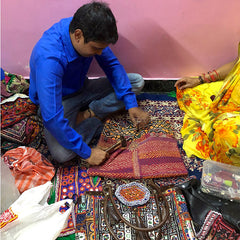 How banjara bags are made The Fox and the Mermaid
