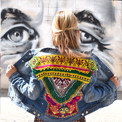 Embellished Denim Jackets The Fox and the Mermaid