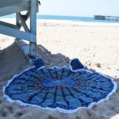 MANDALA ROUNDIE WITH MATCHING BAG AND CUSHION COVER