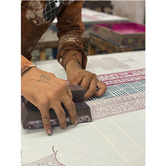 Block Printing by Hand