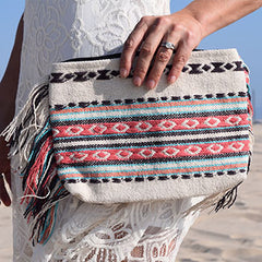 INDIAN EMBROIDERED CLUTCH
